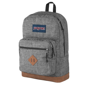 JanSport CITY VIEW Heathered Backpack Book Bag 31L Brand New JS0A3P3U5B1 $58.50