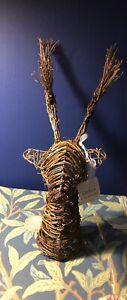 Gisela Graham Reindeer Twig Hanging Head