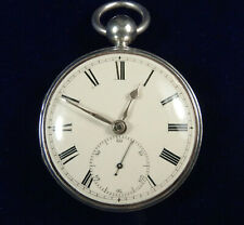 1828 fusee lever watch by Richard Hornby Liverpool serviced & working well