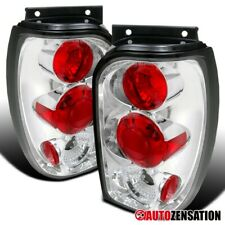 For 1998-2001 Ford Explorer Mercury Mountaineer Clear Tail Brake Lights Lamps