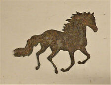 "6"" Running Horse Rusty Metal Wall Art Craft Stencil Vintage Sign Farm Ranch"