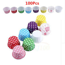 Cute Mini Cupcake Paper Cake Liner Case Wrapper Muffin Baking Cup Birthday Party
