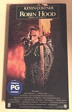 Robin Hood: Prince of Thieves (VHS, 1991) Kevin Costner