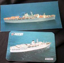 CROISIERES PAQUET Cruise Line MERMOZ 2 Postcards