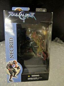 2003 McFarlane Soul Calibur II Necrid Namco Fighting Game Action Figure