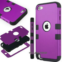 Heavy Duty High Impact Protective Armor Case Cover For Apple iPod Touch 5 6th CA