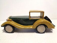 Decorative Vintage Wooden Car