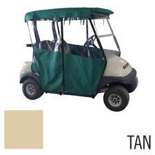 Pro-Fit Club Car Precedent 2-Passenger Polyster 3-Sided Tan Enclosure (PF11356)