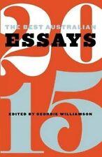Good, The Best Australian Essays 2015, , Book