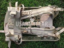 Molle Rifleman Desert Tan Frame Shoulder Straps Kidney Pad Belt Assembly GEN 4