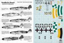 AEROMASTER DECALS 1/48 Messerschmitt Bf 109G-10 IV./JG 5 JG 2 53 ISS (Luftwaffe)