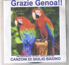 """GIULIANO DE PRE'GIULIO BADINO""""GRAZIE GENOA"""" CD NEW CANZONI SUL GENOA GIGI MERONI"""