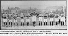 CHELSEA FOOTBALL TEAM PHOTO>1905-06 SEASON