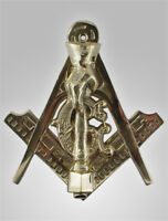 ANTIQUE MASONIC FREEMASONS  DOOR KNOCKER DOORKNOCKER GIFT -The Finest Available