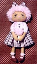 Primitive Pattern Cotton Candy Annie A sweet little Raggedy Ann & Cotton Candy