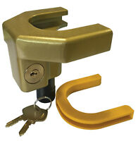Security Safe Anti Theft Caravan & Trailer Hitch 50mm Easy Fit Coupling Lock