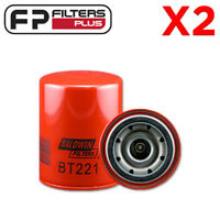 2 x BT221 Baldwin Oil Filter - Suits 2H Toyota Engines - Z161, P550707, LF3399