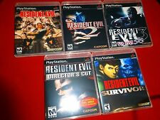 EMPTY Replace Case RESIDENT EVIL 1 2 3 DIRECTOR'S CUT Survivor PS1 PLAYSTATION 1