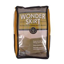 Wrap-Around Wonderskirt California King Bed Skirt in Light Grey