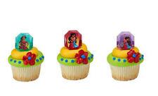 Elena of Avalor Noble Heart cupcake rings (24) favor cake topper 2 doz