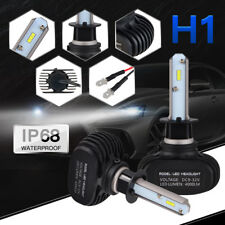 Bevinsee H1 LED Headlight Bulbs 50W Kit Fits For BMW X5 05 06 Audi A6 05 07 08