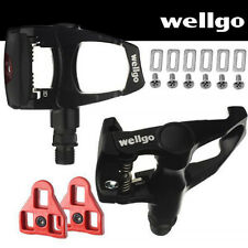 Repacked Wellgo Road Bike Pedals Look ARC Compatible with Cleats Black