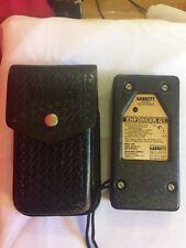 Vintage Garrett Enfoncer G1 Pocket Scanner W/ Leather Case