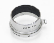 Leica Leitz FISON A36 Chrome Lens Hood/Shade for 5cm 50mm Elmar Screw Mount Lens