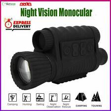 6X50 IR Infrared Night Vision Monocular Telescope For Hunting Bird Watching #