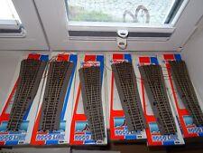 Spur HO  ROCO Line 42532 42533  6 Stück Weichen mit elektr. Antrieb