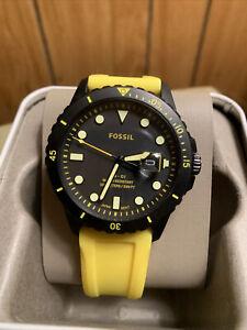 Men's Fossil Watch FS5684 Waterproof 10ATM