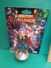 "Marvel Miniature Alliance Thor  2""in Collectible and or Cake Topper"