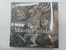 THE ART OF MAURICE SENDAK BY SELMA G LANES 1980 GOOD CONDITION