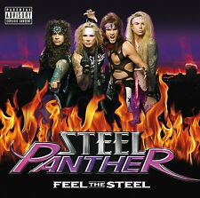 Steel Panther Feel The Steel CD NEW 2009 Glam Metal