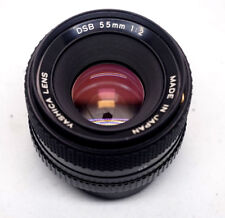 YASHICA 55mm F/2 DSB Standard Manual Focus Contax C/Y Mount Lens for EF, E, M4/3