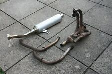 Motad vfr 750  exhaust downpipes and Remus end can RC36 1990-3