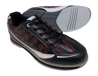 New Women's SaVi Rose Black/White/Red Bowling Shoes Size 9