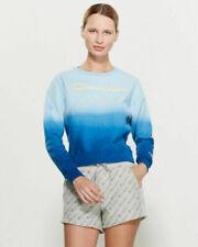 NEW Spellout Script Tie dye Champion Ombré Reverse Weave Sweatshirt Crew Medium