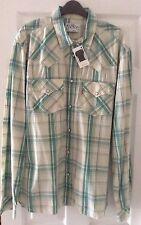 Levi Strauss & Co Men's Regular Long Sleeve Check Casual Shirts & Tops