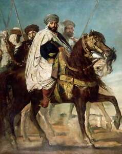 Theodore Chasseriau Caliph of Constantine Ali Giclee Paper Print Poster