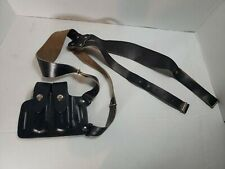 El Paso Double Mag 75 Attached To Shoulder Holster. Leather