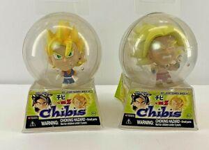 Dragon Ball Z CHIBIS Legendary Super Saiyan Vegeta & Broly 2 Pc Lot