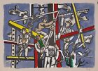 after Fernand Leger (French 1881-1955)- ''Construction Workers''