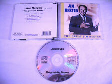 JIM REEVES  The Great  CD