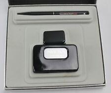Vintage Invictus Pen & Cologne Boxed Gift Set Sheaffer White Dot Ballpoint Pen