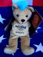 HRC HARD ROCK CAFE Bogota punk Bear Mohawk 2010 blue hair Herrington