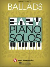 Ballads Easy Piano Solos Sheet Music Solo Book NEW 014041286