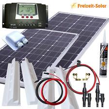Wohnmobil Solarmodul 100 Watt Solaranlage Solarset 200 Watt mit 30 A Laderegler
