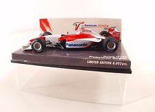 Minichamps  F1 Panasonic Toyota TF102 Promotional Showcar 1/43 neuf boxed/boite