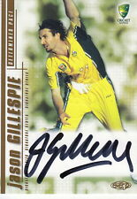 2003/04 Cricket - Jason Gillespie Autograph Card #SS04 (Ikon Collectables)